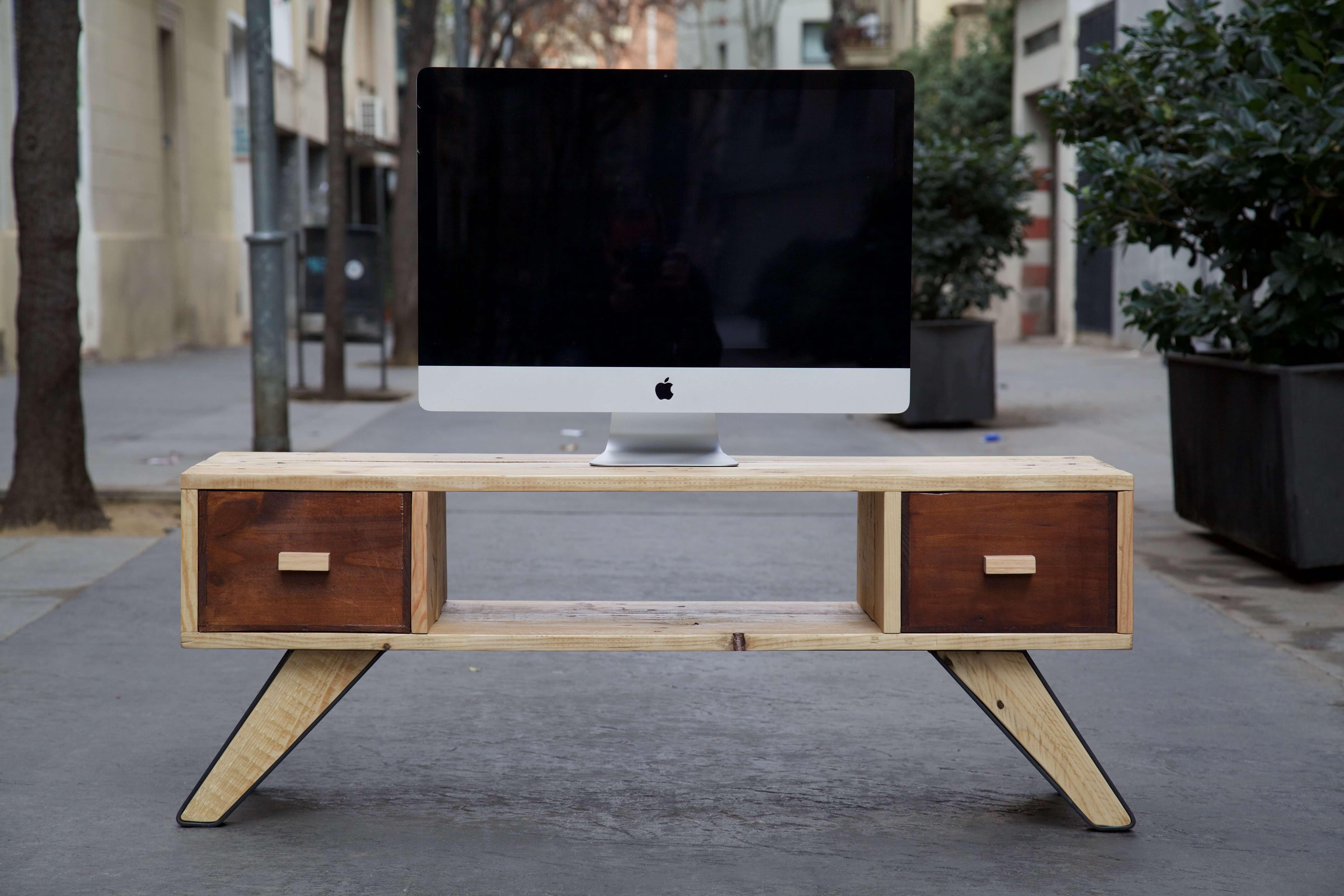 Como hacer un mueble con palets good manual with como - Como hacer un mueble con palets ...