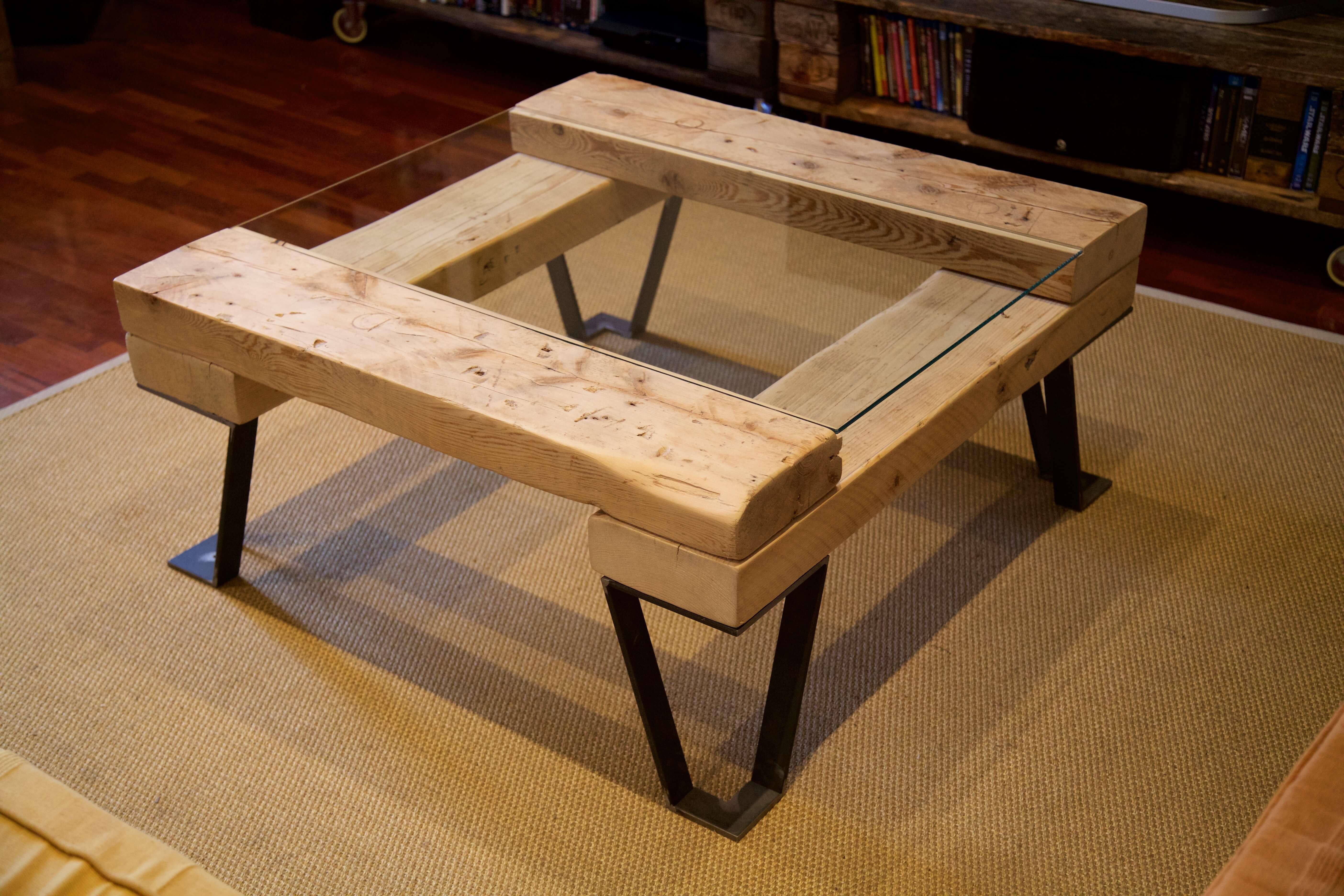 Mesas hechas con palets mesas de caf hechas con palets - Mesa de palets ...