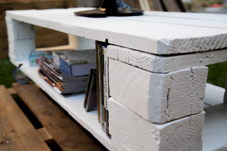 Mueble de tv matilda paletos - Palets muebles reciclados ...