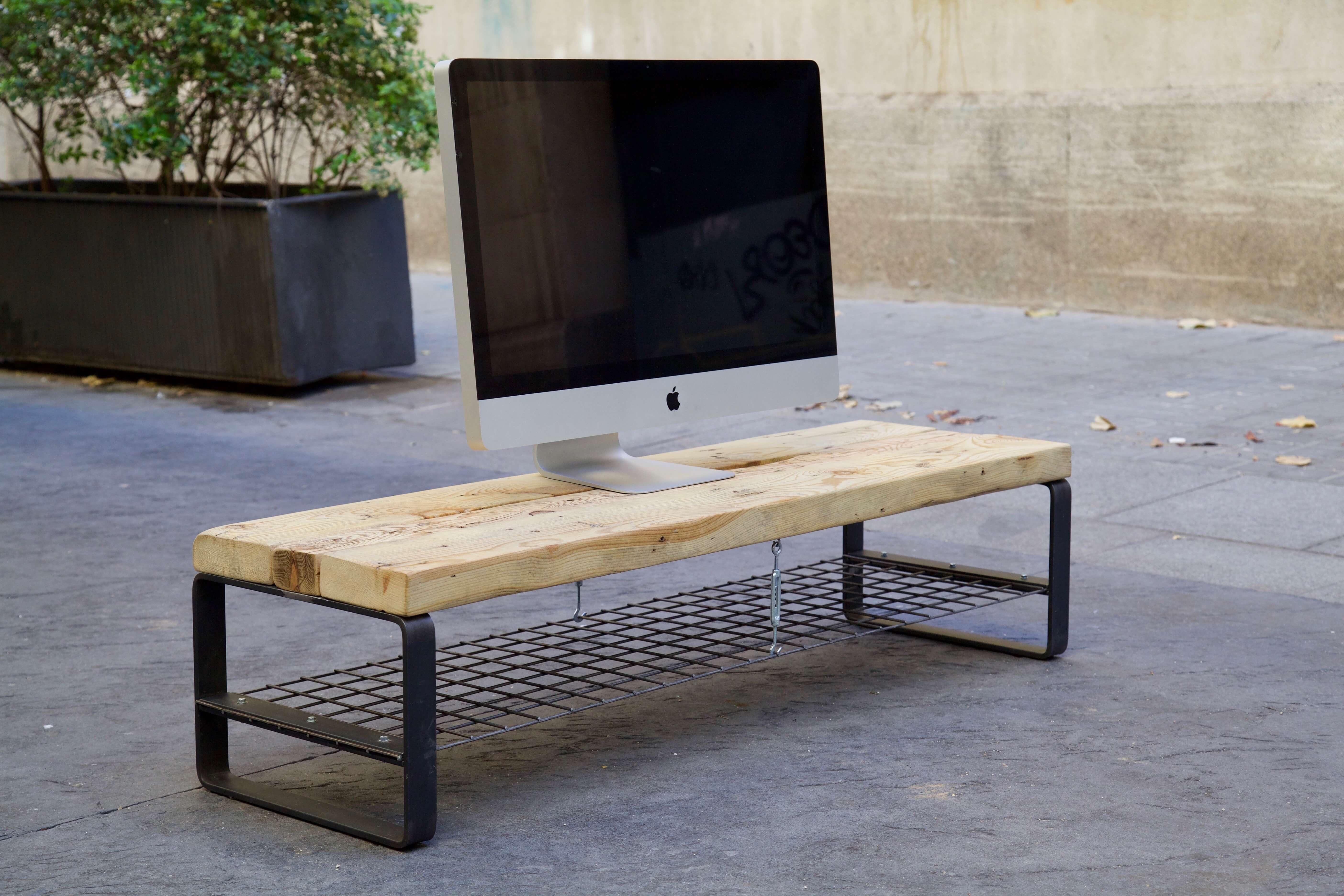 Mueble de tv atreyu paletos - Palets muebles reciclados ...