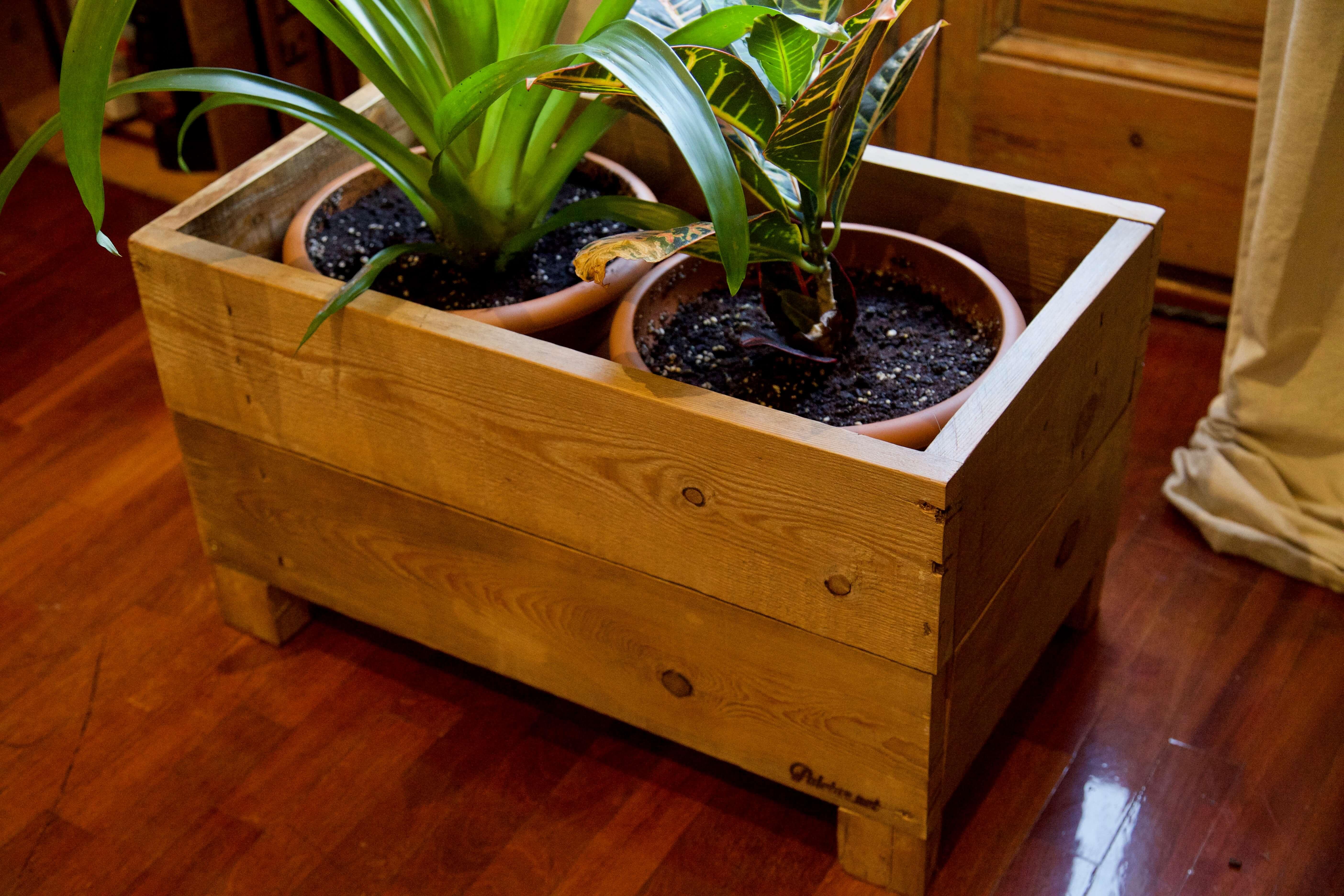 Jardinera seligman paletos - Que hacer con los palets ...