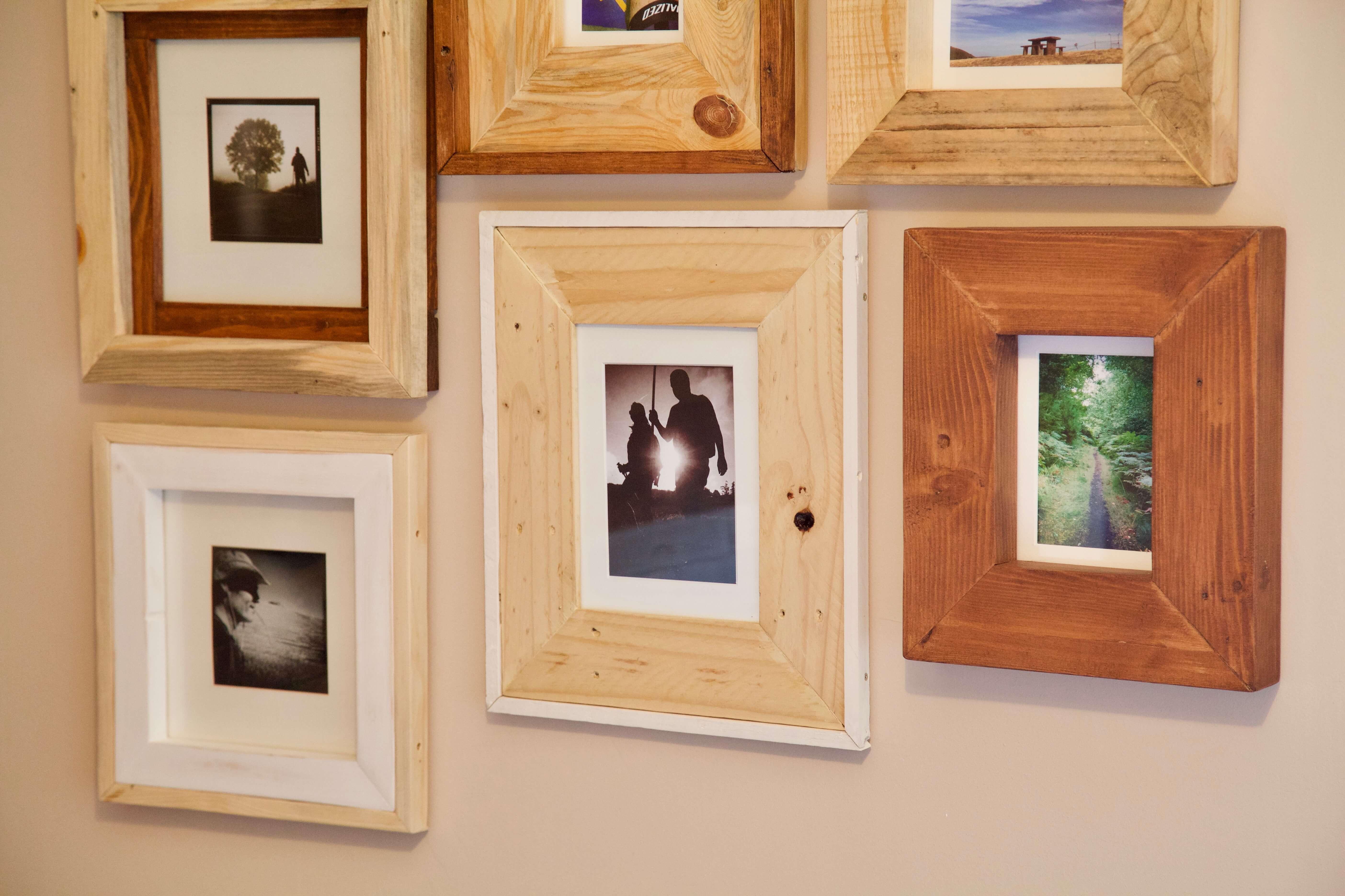 Marcos para fotos de palets groucho paletos - Diy marcos para fotos ...