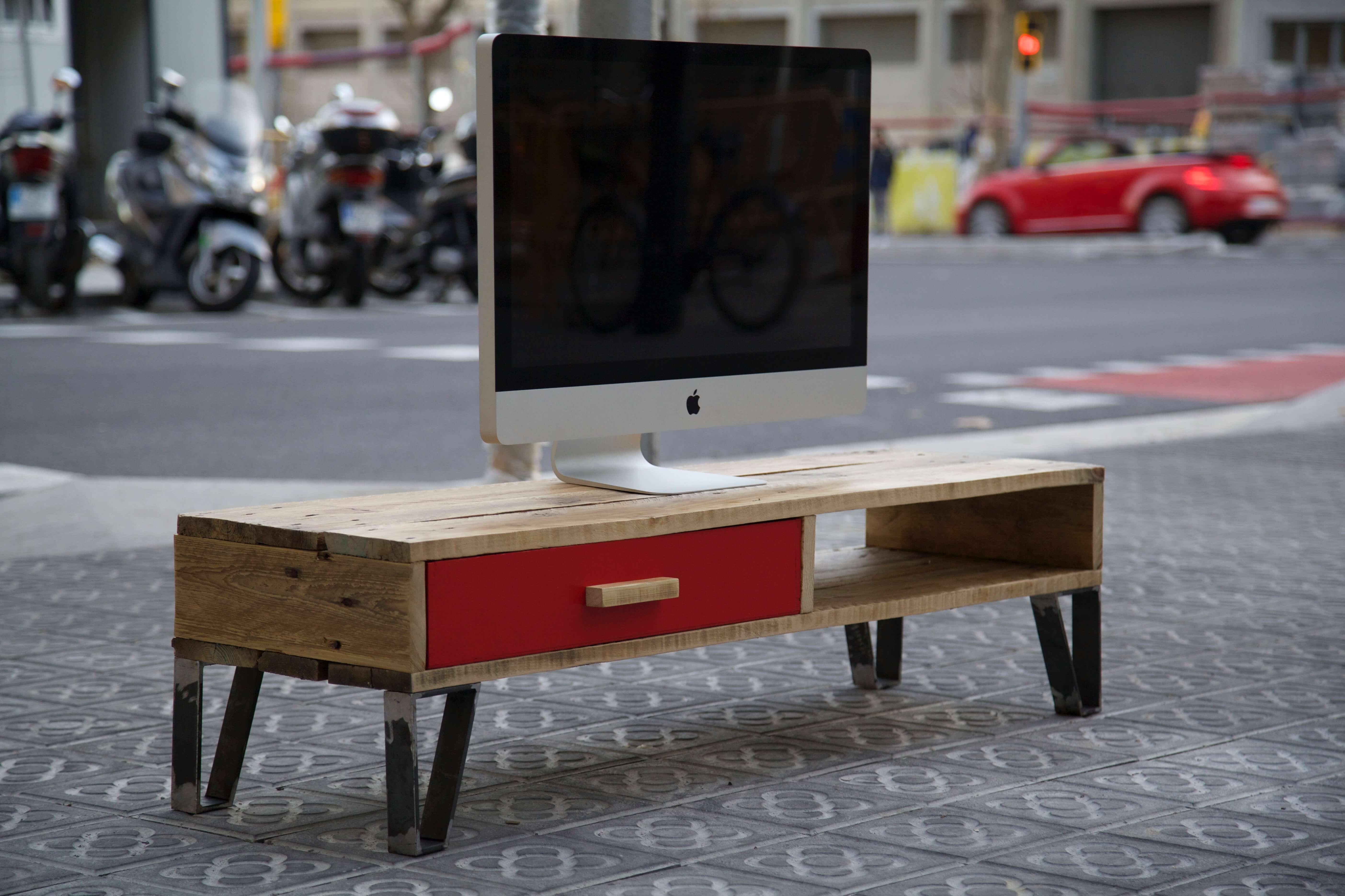 Mueble de tv kika paletos - Palets muebles reciclados ...