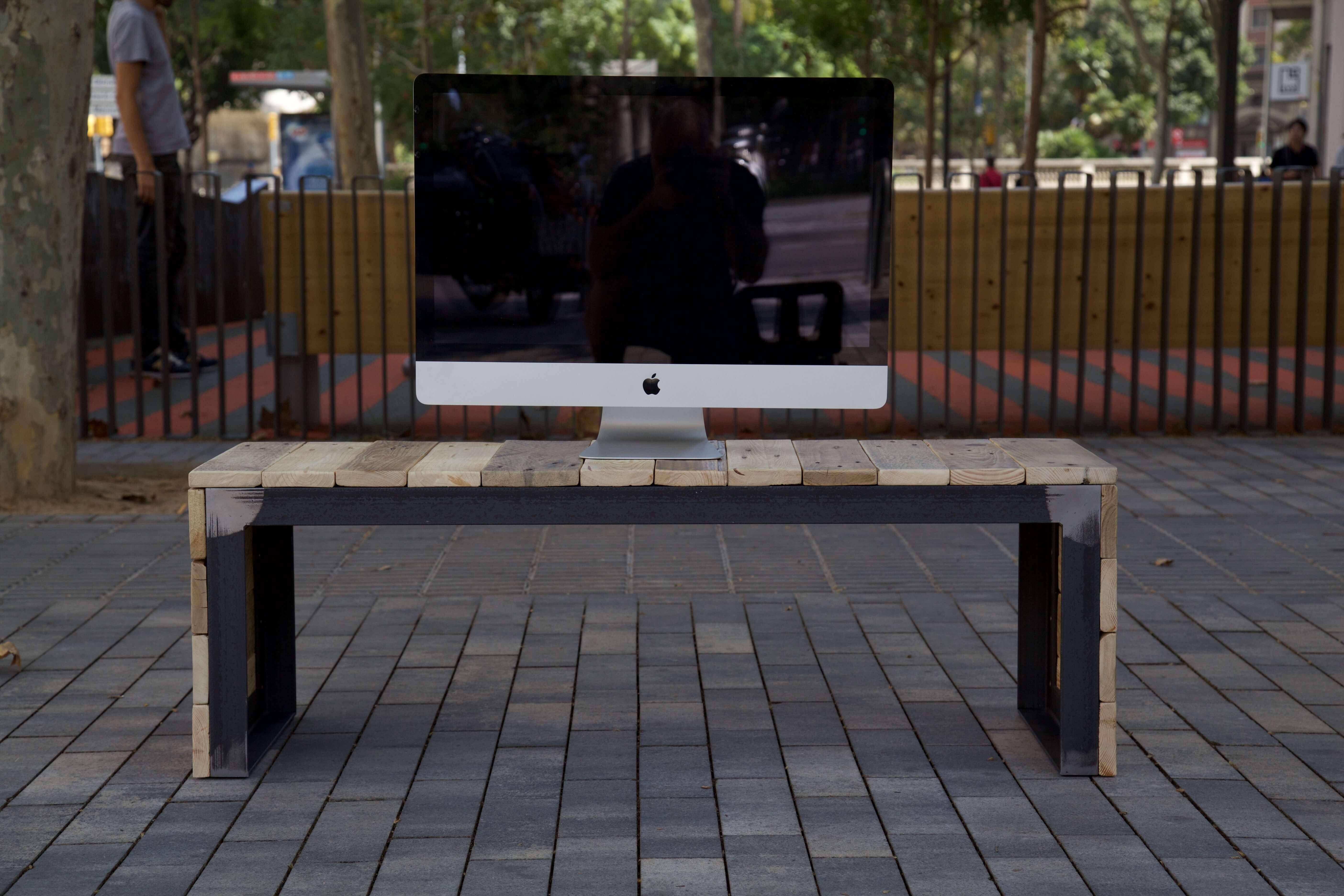 Mueble para tv con palets free como hacer un mueble de tv for Como hacer un mueble de lavabo con palets