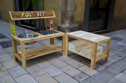 Muebles de palets reciclados hechos con mucho cari o - Comprar muebles palets ...