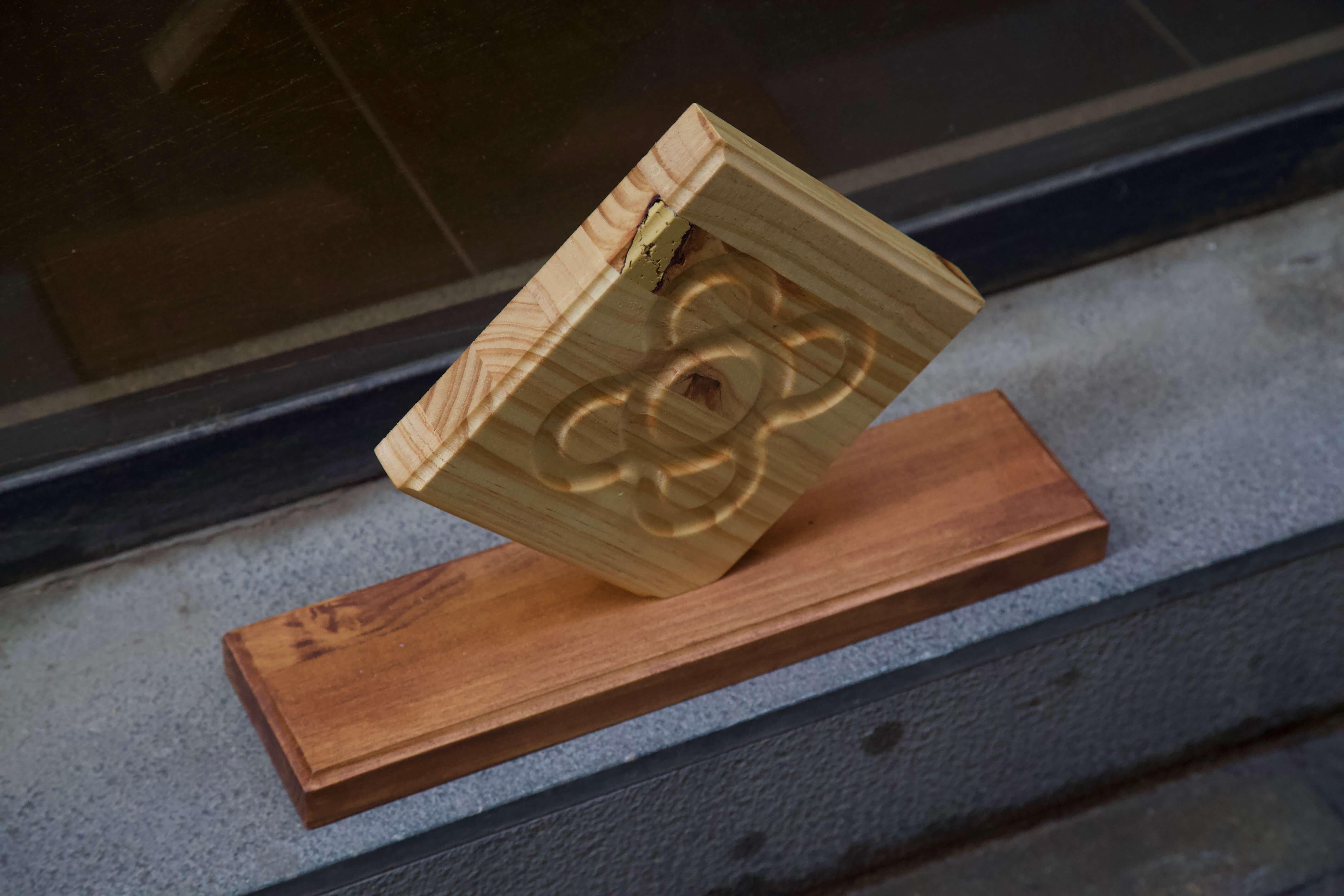 imagen cenital izquierda expositor panot flor de barcelona