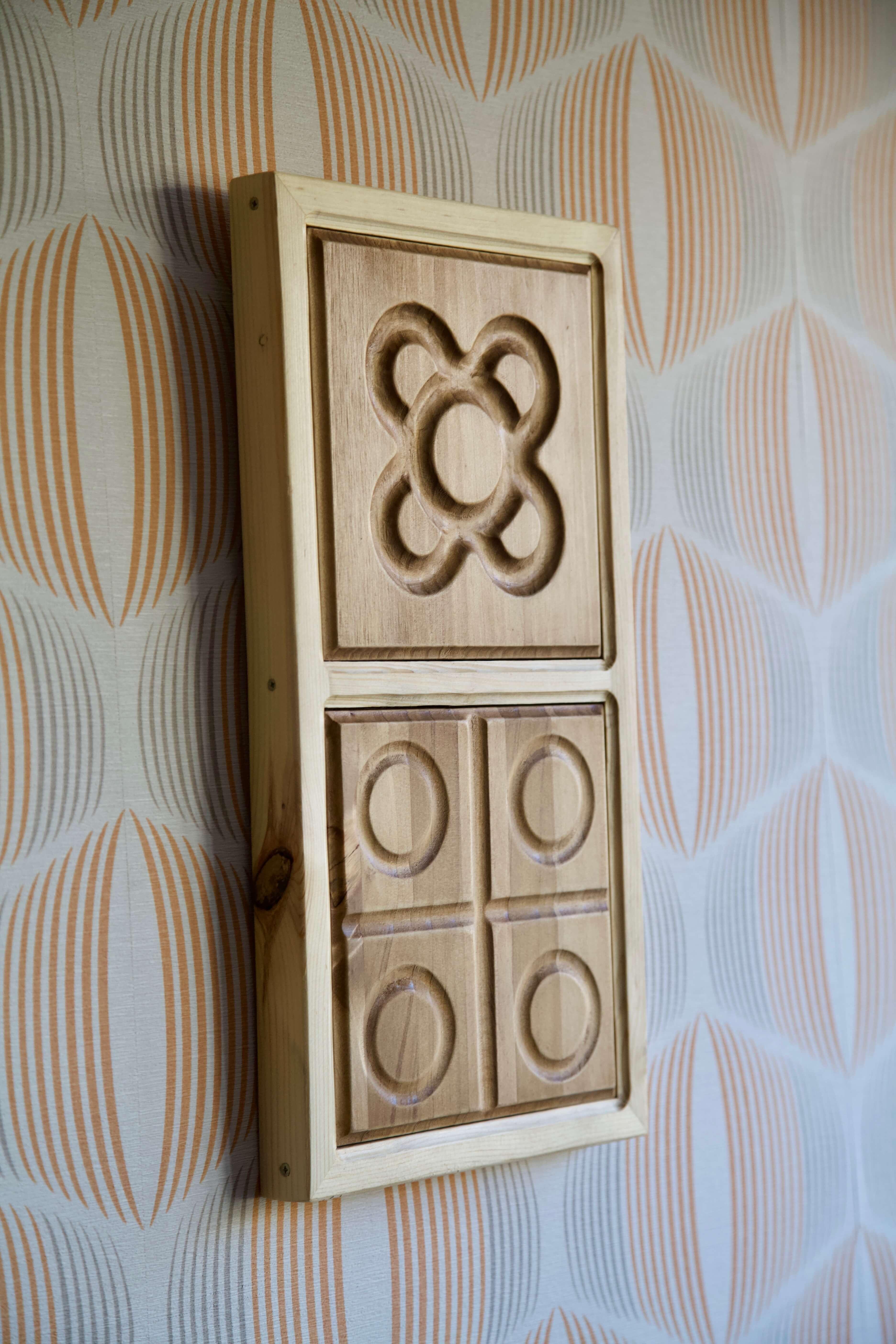 imagen lateral izquierda del marco con panot flor de barcelona