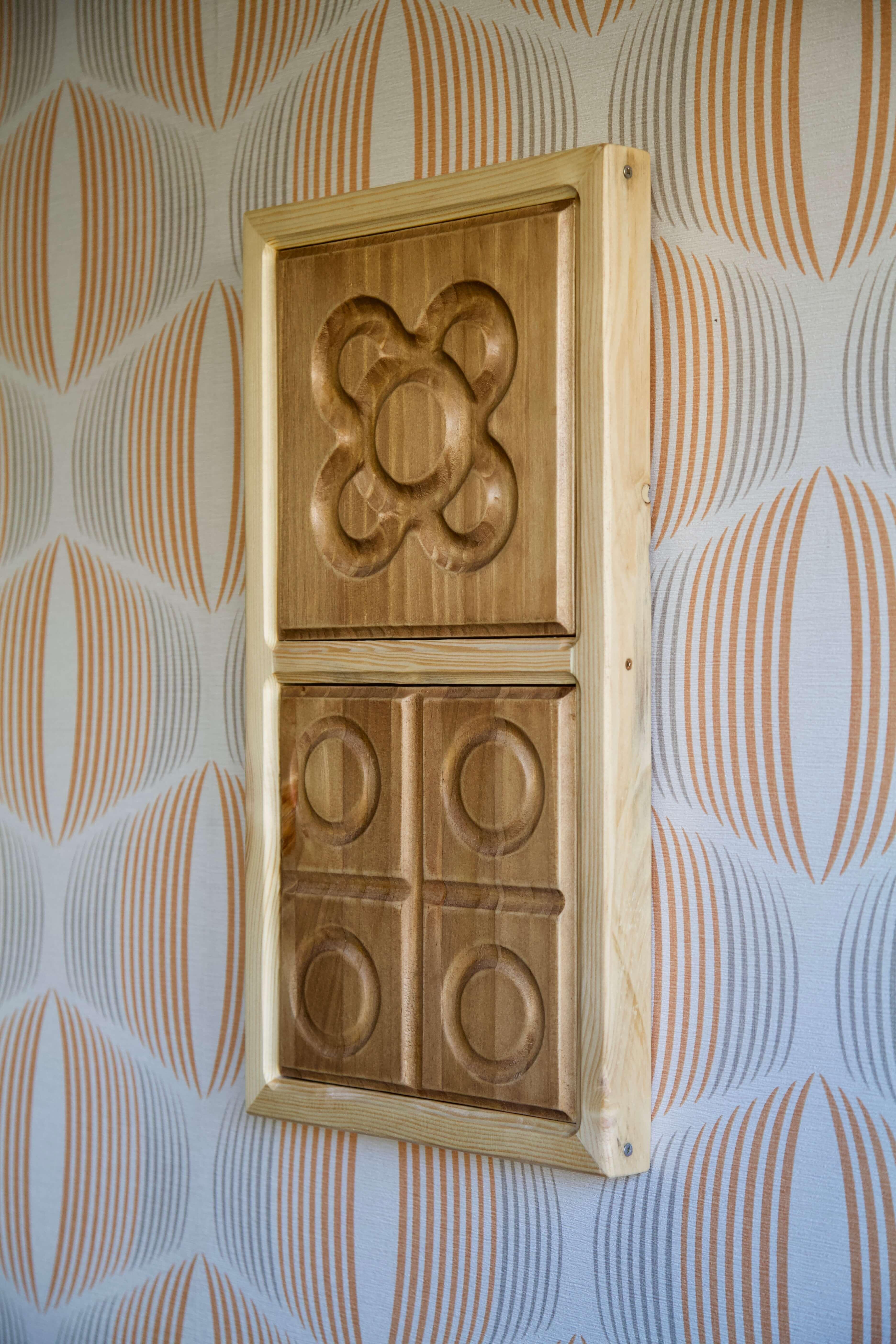 imagen lateral derecha del marco con panot flor de barcelona